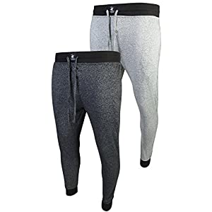 Beverly Hills Polo Club Men's Jogger Lounge Pajama Pants (2 Pack)