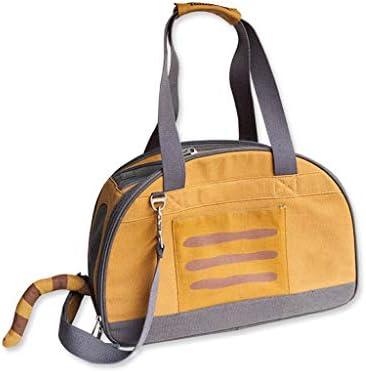 旅行用にデザインされたペットクラブ用ソフトクレートバッグ、アウトドア用、キャットパピー小型ペット、3色 (色 : イエロー いえろ゜, サイズ さいず : S s)