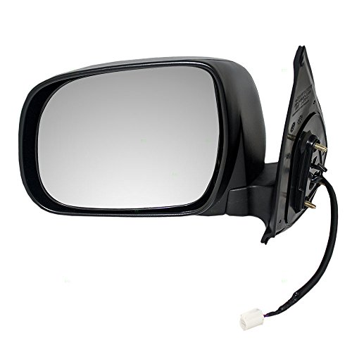 Mirrors Toyota Truck - Drivers Power Side View Mirror Textured Replacement for Toyota Pickup Truck 87940-04180