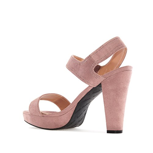 Andres Machado AM5166.Platform Sandals in Suede.Petite&Large Sizes: UK 0.5 to 2.5/EU 32 to 35 - UK 8 to 10.5/EU 42 to 45. Light Brown Suede ruQkEKwhnW