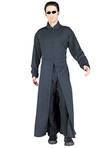 Mygems Party Holloween Matrix 2 Neo Fancy Dress Costume for Adult (The Matrix Neo Costume)