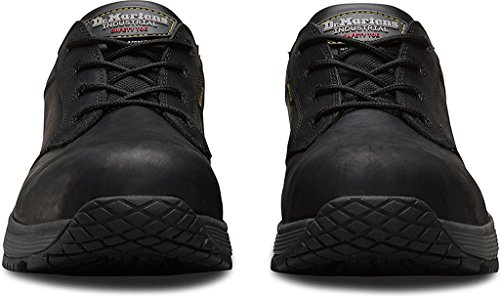 Black Shoes Rubber Dr Leather Static Eye ST Linnet 4 Dissipation Martens Unisex wxPRqOPSA6