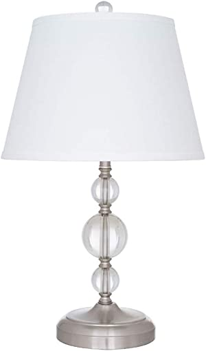 Amazon Brand Ravenna Home Stacked Ball Table Desk Lamp
