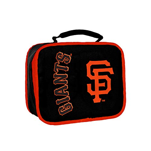 (Officially Licensed MLB San Francisco Giants Sacked Lunchbox, 10.5-Inch, Orange)