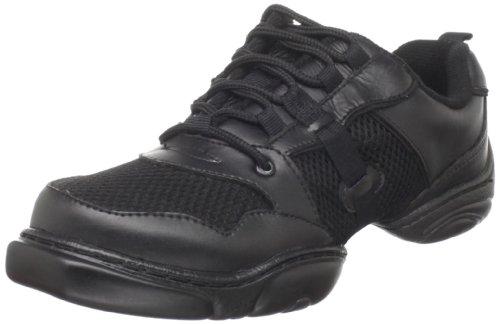 Dance Class Womens JS200 Jazz Sneaker Black