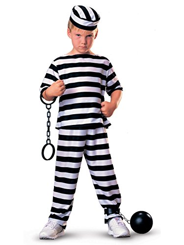 (Haunted House Child Prisoner Costume,)
