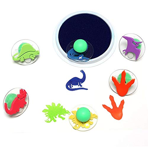 (Center Enterprise CE6763 READY2LEARN Giant Dinosaur Stamps (Pack of 6))