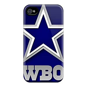For QJh10501JwlU Dallas Cowboys Protective Cases Covers Skin/iphone 4/4s Cases Covers