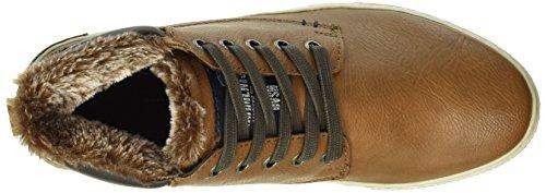 Tom Tailor 1685002 - Zapatillas Hombre Marrón