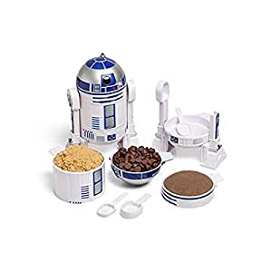 ThinkGeek Star Wars R2-D2 Measuring Cup Set - Set of Measuring Cups That Look Like R2-D2 - A ThinkGeek Creation and Exclusive