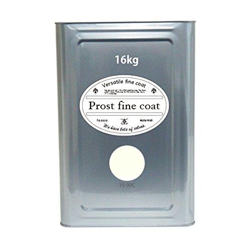壁クロス用 水性塗料 19-90C ホワイトクリーム 16kg/ 艶消し 壁 天井 壁紙 ペンキ ファインコート B0757CZNGZ 16kg