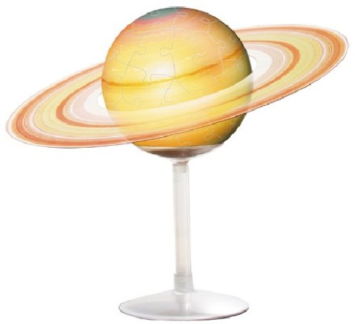 3D Assembly Puzzle Saturn 60 Pieces by Yanoman