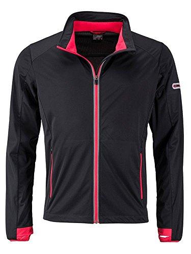 Giacca Men's Jacket Per Tempo Promozionale light Softshell red Il Libero Funzionale Sport Sports Lo Black E rwHrq1nA