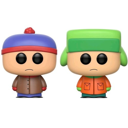 Funko - POP! South Park: Stan and Kyle 2PK Best Buy Exclusive -