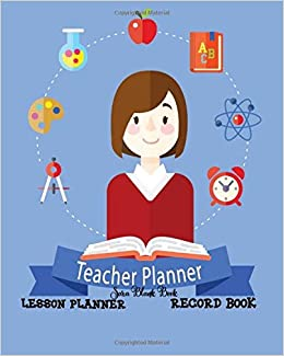 teacher lesson planner record book this is perfect for educators