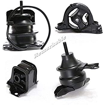 Remarkable Power G030 Fit For 98-02 Honda Accord 2.3L Transmission Engine Motor Mount Kit AT Trans