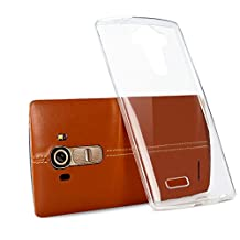 LG G4 Case, [Invisible Armor] Xtreme SLIM, CLEAR, SOFT, Lightweight, Shock Absorbing TPU Rubber Bumper Case/ Back Cover