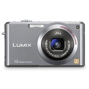 Panasonic Lumix FX100S 12.2MP Digital Camera with 3.6x Wide Angle MEGA Optical Image Stabilized Zoom (Silver)
