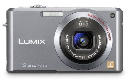 Panasonic Lumix FX100S 12.2MP Digital Camera with 3.6x Wide Angle MEGA Optical Image Stabilized Zoom (Silver)