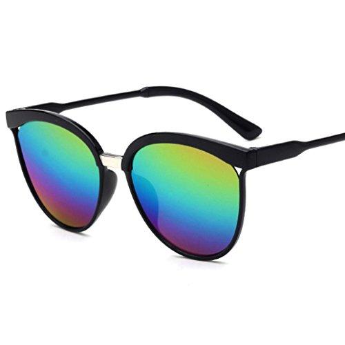 Misaky Polarized UV400 Vintage Retro Square Outdoor Style Sunglasses Eyewear (E, - Sunglasses Box Custom