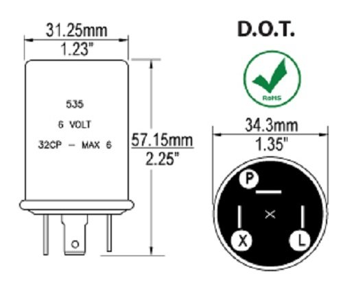 6 volt flasher wiring diagram   29 wiring diagram images