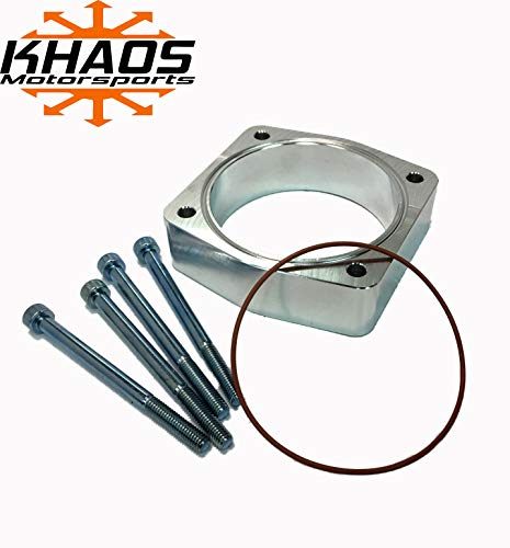 Khaos Motorsports Smooth Bore Throttle Body Spacer Fits Nissan/Infiniti 3.5L 2003-2009