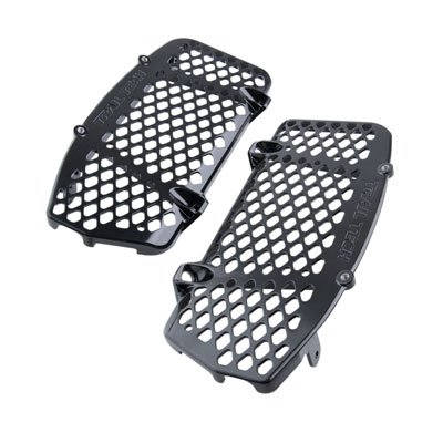 (Trail Tech 0151-RB02 Black Radiator Guard KTM Husqvarna 125 150 250 300 350 450 2016-2019)