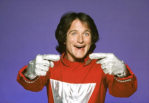 Robin Williams Mork & Mindy 8 X 10 Reprint Photo - Mint Condition (Williams Autograph Robin)