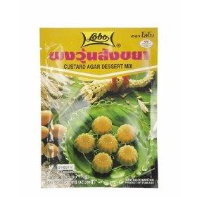 Lobo : Thai Custard Flavor Agar Dessert Mix 2.8 Oz.