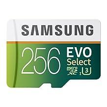 Samsung 256GB 95MB/s MicroSDXC EVO Select Memory Card with Adapter (MB-ME256DA/AM)
