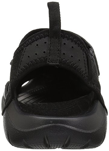 Crocs Mænds Swiftwater Mesh Sandal Sort / Sort v6RxL3UWY