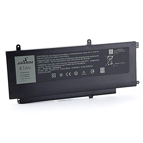 - Amanda Compatible D2VF9 Battery Replacement for Dell Inspiron 15 7547 7548 0PXR51 PXR51 11.1V 43WH