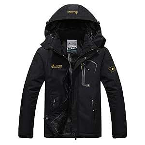 Amazon.com : alisena Men's Mountain Waterproof Ski Jacket