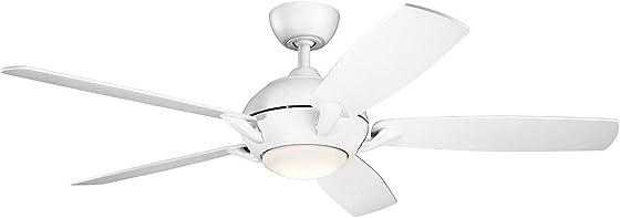 Kichler 330001MWH Geno 54″ Ceiling Fan
