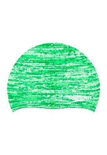 Speedo Remix Swim Cap, Green, One Size (Remix-design)
