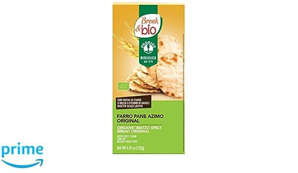 Probios Break&Bio Pan Ázimo de Espelta Sin Levadura - 10 paquetes: Amazon.es: Alimentación y bebidas
