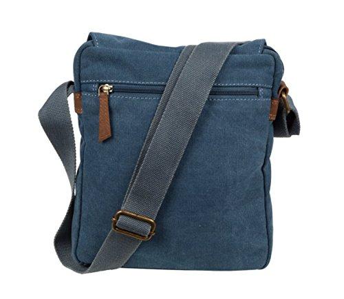 Cactus Bags - Bolso al hombro para hombre M azul vaquero