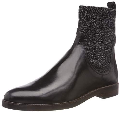 27077 Femme Argento Noir 21 Chelsea Nero Tuareg Glitter Boots Maripé TqOxCwdtq