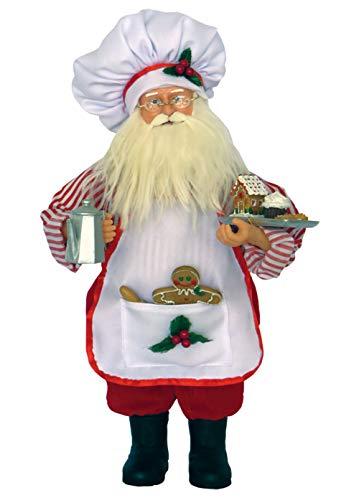 Santa's Workshop Baker Claus Figurine 15
