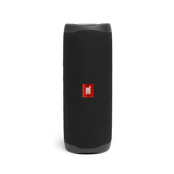 JBL Flip 5 Enceinte Bluetooth Portable avec Batterie Rechargeable, Étanche, Compatible Siri et Google, Noir 1