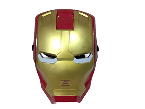 [Marvel Superhero The Avengers Costume LED Light Eye Mask (Iron Man)] (Marvel Heroes Costumes For Adults)