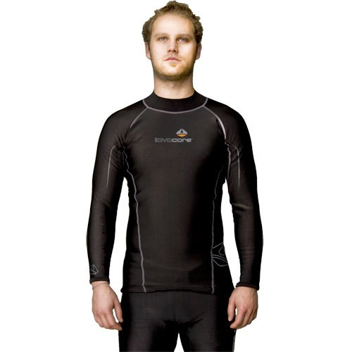 Lavacore Men's Long-Sleeve Shirt Medium-for Scuba, Snorkeling, and Water Sports