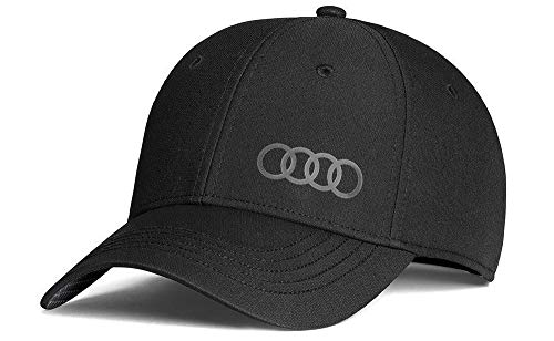 AUDI Collection Frequency Premium Baseball Cap Black 55-59cm