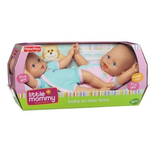 Twin Mommy Little Dolls (Little Mommy Baby so New Twins)