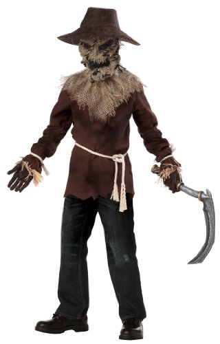 Creepy Scarecrow Costume (California Costumes Toys Wicked Scarecrow,)