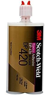 3M Scotch-Weld 021200415302 DP420 Black Epoxy Adhesive, 200 mL, 6.76 fl.