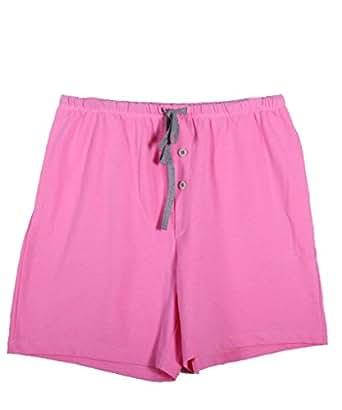D&P Women's Summer Casual Shorts,Rose S