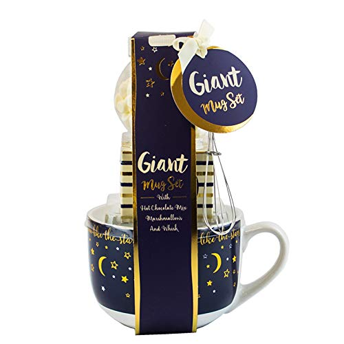 Giant Mug Hot Chocolate Tiered Gift Sets - Pink Chevrons Unbranded