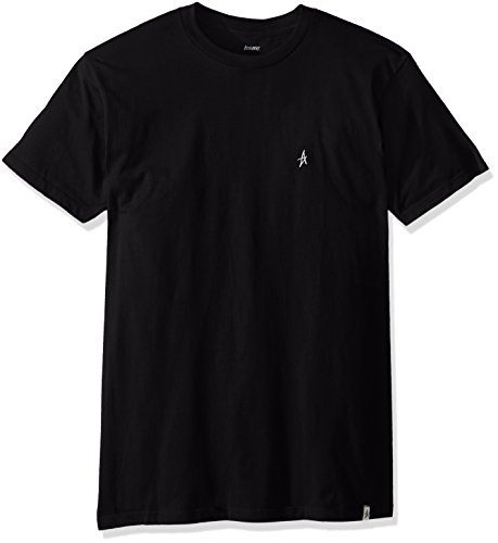 Altamont Tee (ALTAMONT Men's Micro Embroidery T-Shirt, Black, Small)