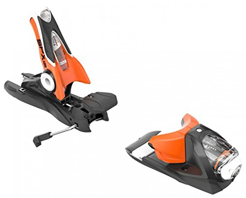 Bindings 120 Mm Brakes - Rossignol Look SPX 12 Dual WTR B100: Ski Bindings (Black/Orange, One Size)